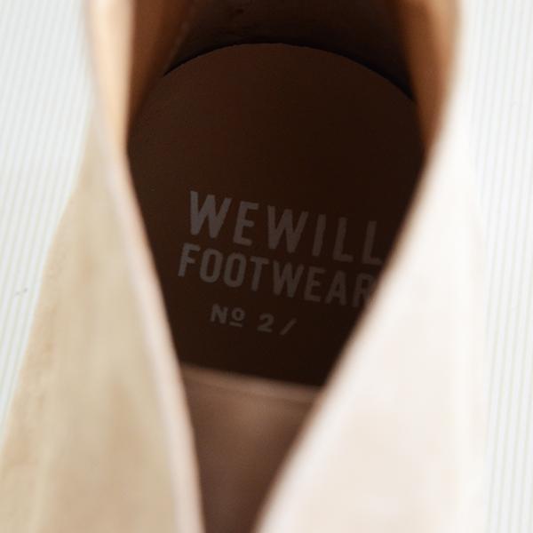 WEWILL ウィーウィル FOOTWEAR No2 ベージュ 9.jpg