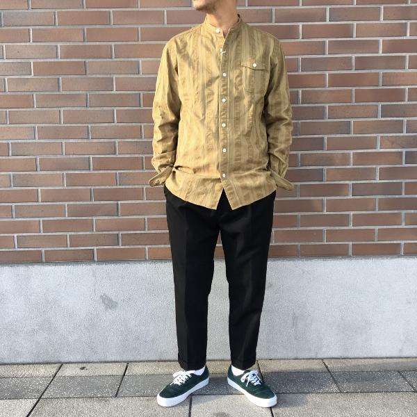 The Stylist Japan ザスタイリストジャパン ノーカラーシャツ 6.jpg