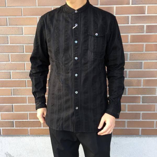 The Stylist Japan ザスタイリストジャパン ノーカラーシャツ 9.jpg