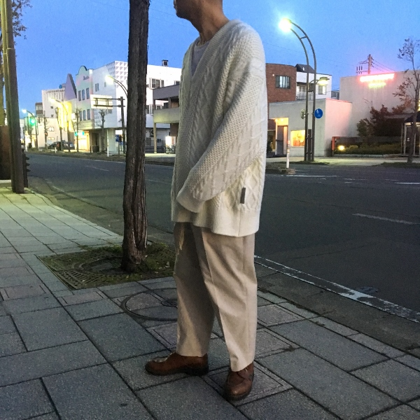 Name. ネーム CABLE KNIT OVERSIZED V NECK SWEATER 9.jpg