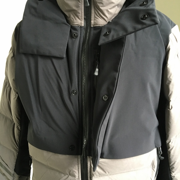 CANADA GOOSE カナダグース HYBRIDGE CW ELEMENT JACKET BLACK LABEL Coastal Gray 4.jpg
