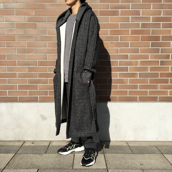 Reigning Champ レイニングチャンプ Hooded Robe Tiger Fleece 3.jpg