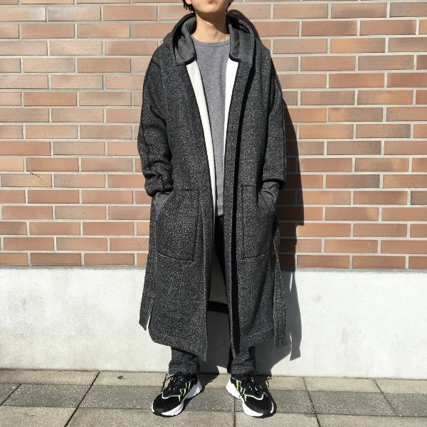 Reigning Champ レイニングチャンプ Hooded Robe Tiger Fleece 4.jpg