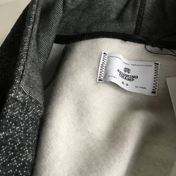 Reigning Champ レイニングチャンプ Hooded Robe Tiger Fleece 8.jpg