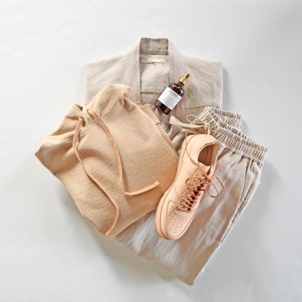 ANEI アーネイ 羽織り S.S HAORI JKT L.H & ISLE PANTS L.H 1.jpg