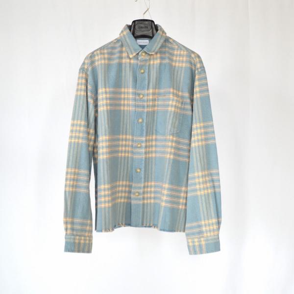 JOHN ELLIOTT ジョンエリオット Hemi oversized shirt speedway check 1.jpg
