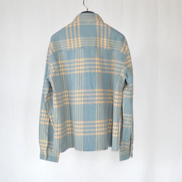 JOHN ELLIOTT ジョンエリオット Hemi oversized shirt speedway check 2.jpg