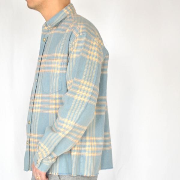 JOHN ELLIOTT ジョンエリオット Hemi oversized shirt speedway check 4.jpg