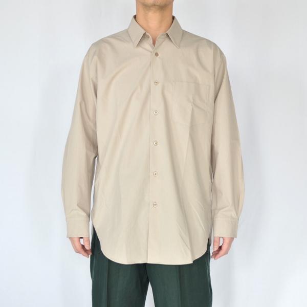 WEWILL ウィーウィル シャツ beige 3.jpg