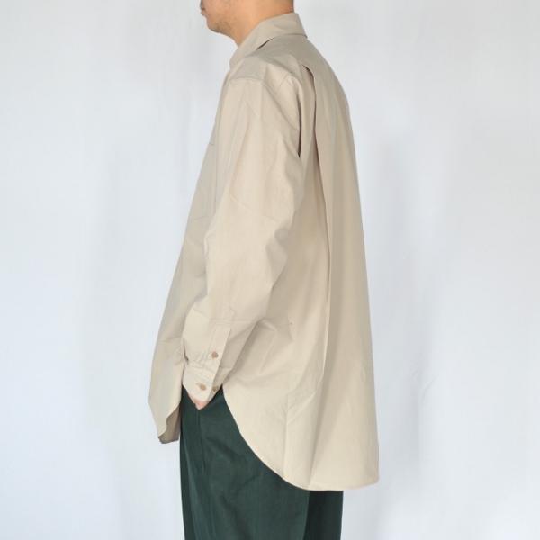 WEWILL ウィーウィル シャツ beige 4.jpg