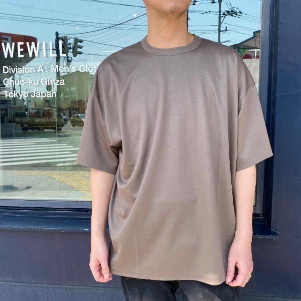 WEWILL ウィーウィル ビッグTシャツ BIG T-shirt W-006-8018 2.jpg