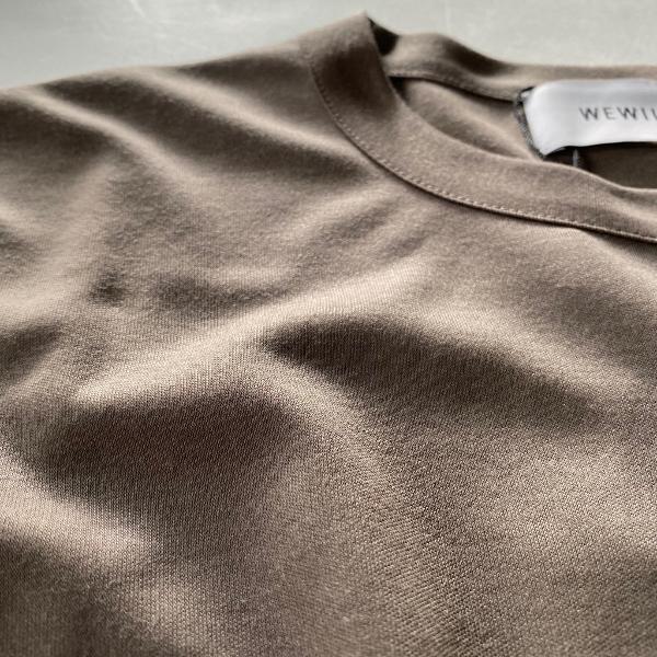 WEWILL ウィーウィル ビッグTシャツ BIG T-shirt W-006-8018 3.jpg