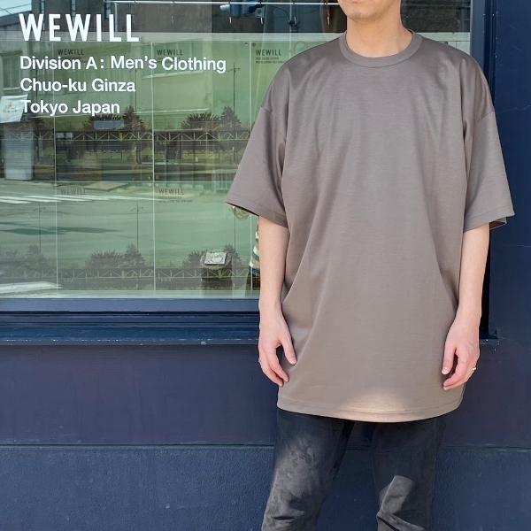 WEWILL ウィーウィル ビッグTシャツ BIG T-shirt W-006-8018 4.jpg