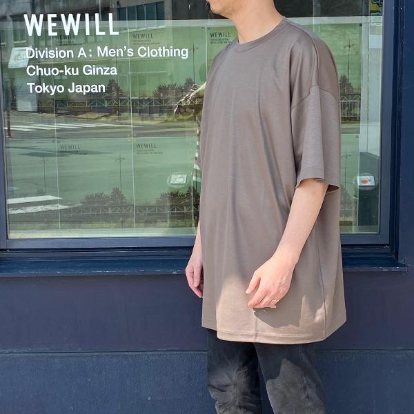 WEWILL ウィーウィル ビッグTシャツ BIG T-shirt W-006-8018 5.jpg