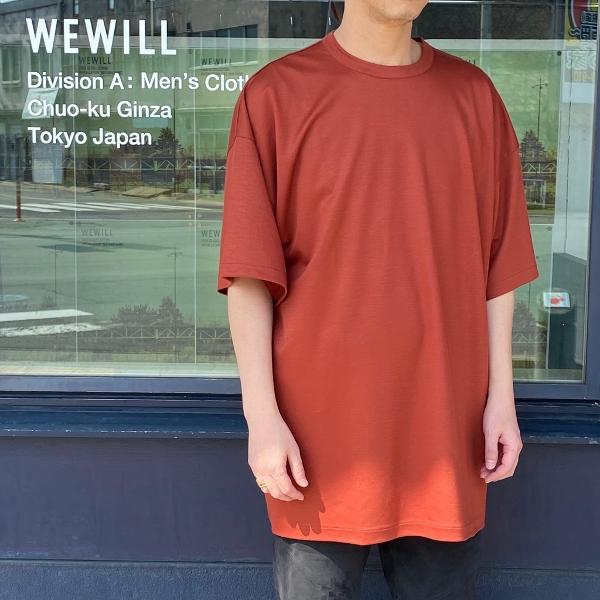 WEWILL ウィーウィル ビッグTシャツ BIG T-shirt W-006-8018 6.jpg