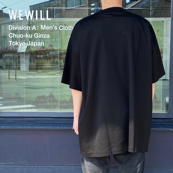 WEWILL ウィーウィル ビッグTシャツ BIG T-shirt W-006-8018 8.jpg