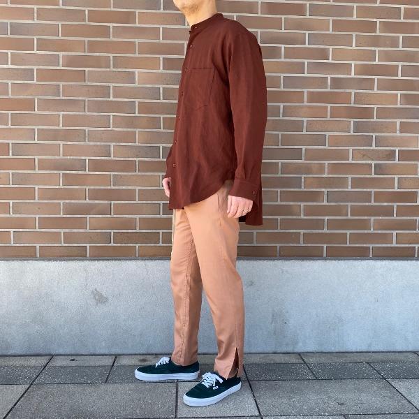 ANEI アーネイ SIDE SLIT PANTS サイドスリット パンツ ピンク 1.jpg