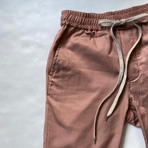 ANEI アーネイ SIDE SLIT PANTS サイドスリット パンツ ピンク 2.jpg