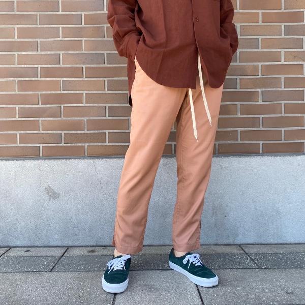 ANEI アーネイ SIDE SLIT PANTS サイドスリット パンツ ピンク 7.jpg
