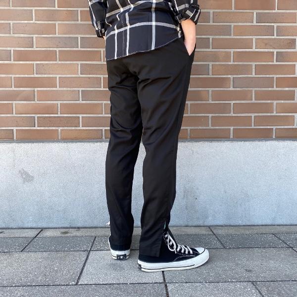 ANEI アーネイ SIDE SLIT PANTS サイドスリット パンツ ブラック 7.jpg