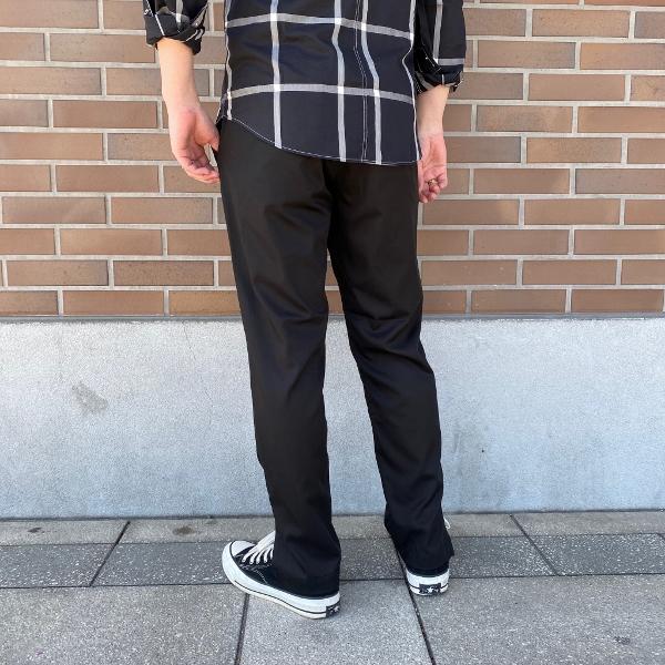 ANEI アーネイ SIDE SLIT PANTS サイドスリット パンツ ブラック 8.jpg