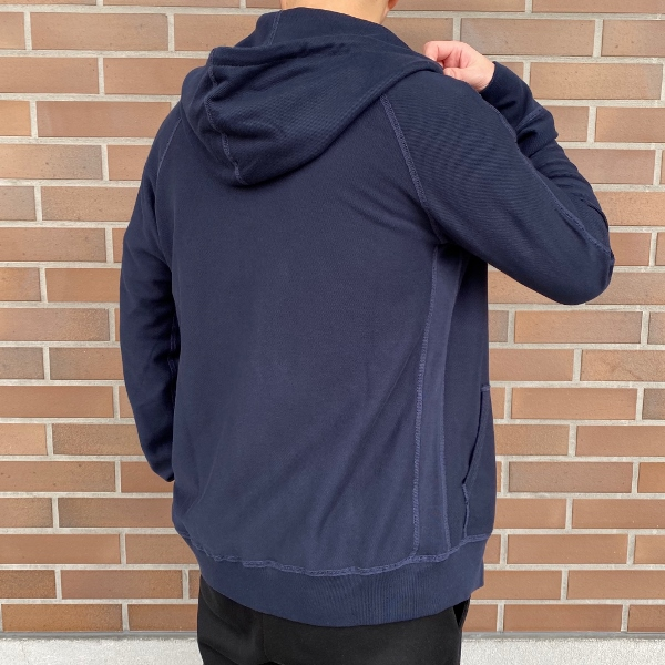 REIGNING CHAMP レイニングチャンプ FULL ZIP HOODIE REVERSE TWILL TERRY NAVY 3.jpg