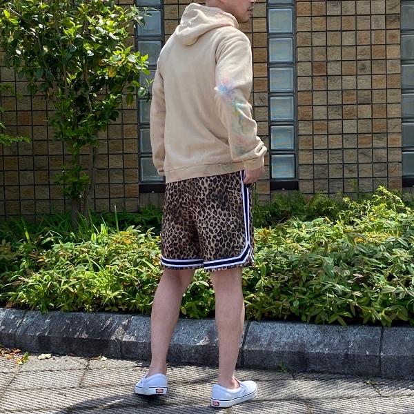JOHN ELLIOTT ジョンエリオット Game Shorts ショートパンツ レオパード 通販 9.jpg