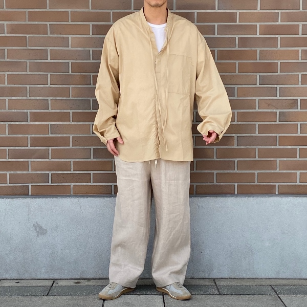 ANEI アーネイ OPEN NECK TUNIC チュニックシャツ 2.jpg