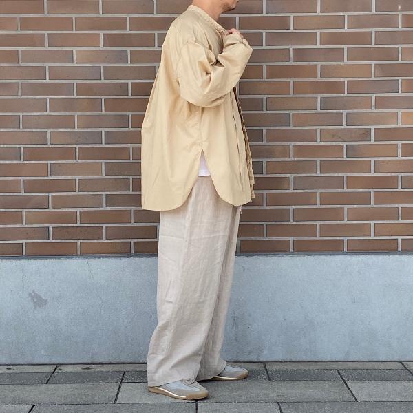ANEI アーネイ OPEN NECK TUNIC チュニックシャツ 3.jpg