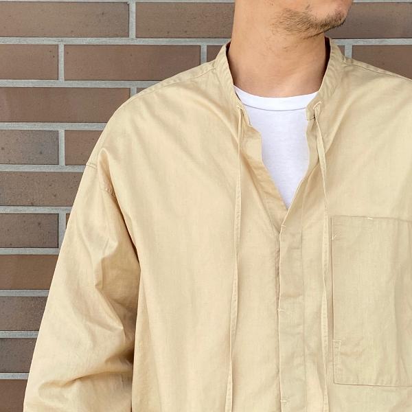 ANEI アーネイ OPEN NECK TUNIC チュニックシャツ 5.jpg