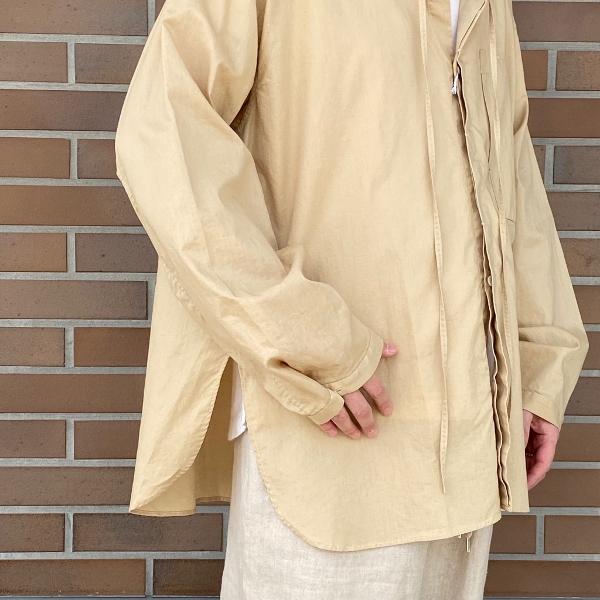 ANEI アーネイ OPEN NECK TUNIC チュニックシャツ 7.jpg