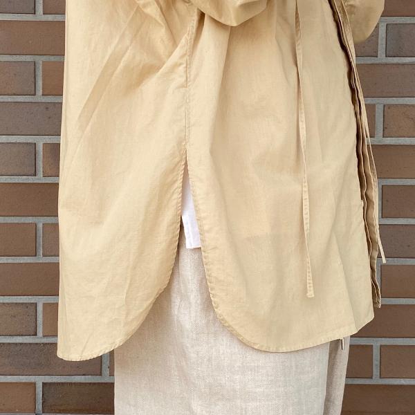 ANEI アーネイ OPEN NECK TUNIC チュニックシャツ 8.jpg