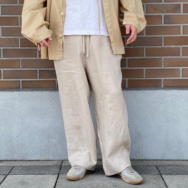 ANEI アーネイ OPEN NECK TUNIC チュニックシャツ 9.jpg