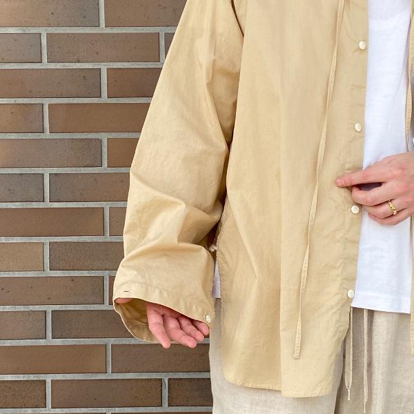 ANEI アーネイ OPEN NECK TUNIC チュニックシャツ.jpg