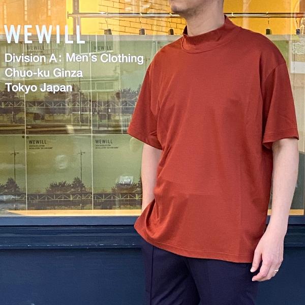WEWILL ウィーウィル モックネックTシャツ 4.jpg