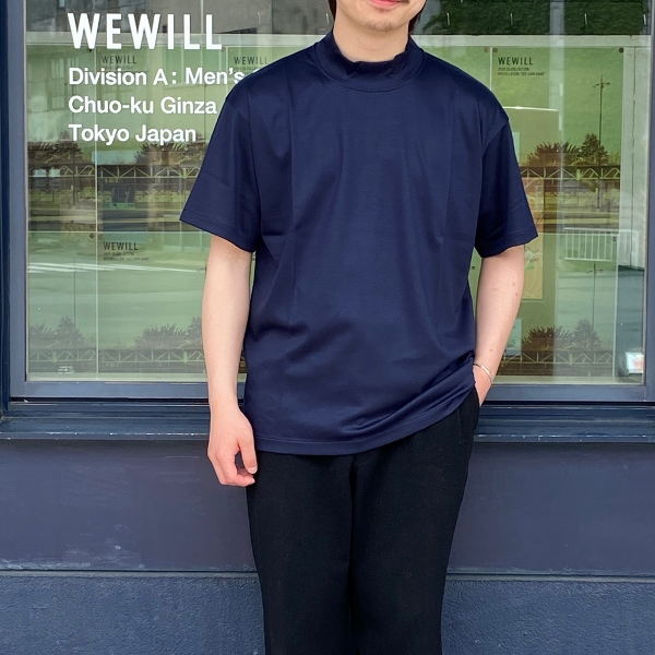 WEWILL ウィーウィル モックネックTシャツ 5.jpg