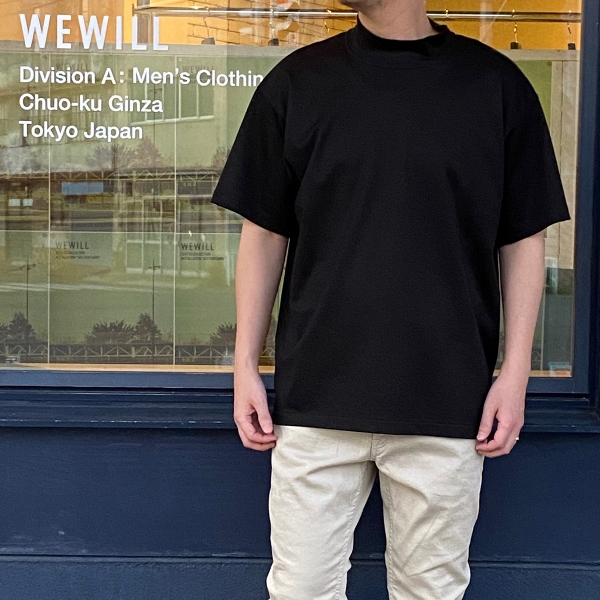 WEWILL ウィーウィル モックネックTシャツ 6.jpg