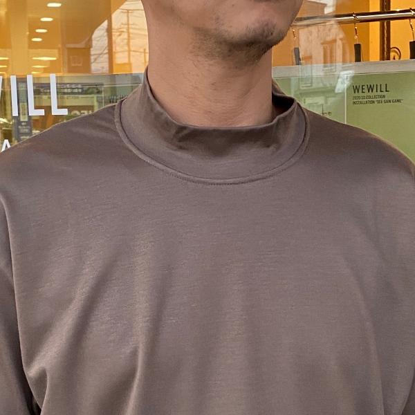 WEWILL ウィーウィル モックネックTシャツ 7.jpg