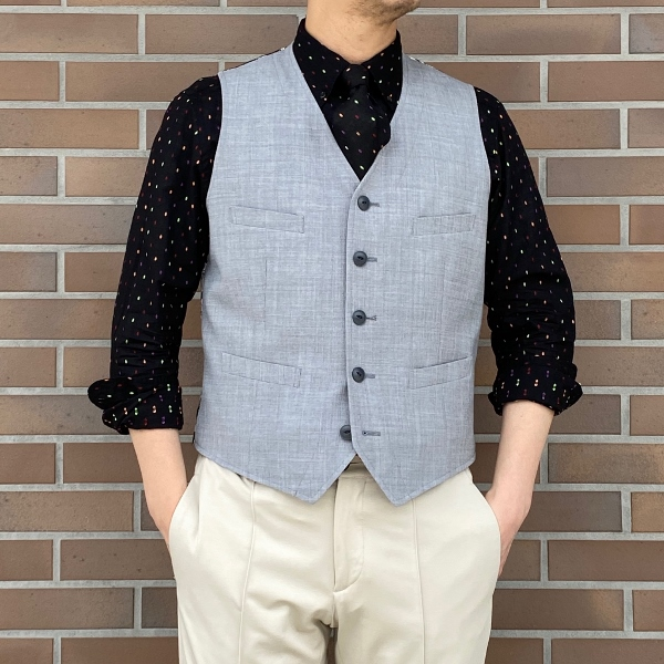 The Stylist Japan ザスタイリストジャパン ドビー シャツ タイ チーフ 3.jpg