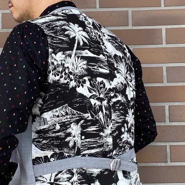 The Stylist Japan ザスタイリストジャパン ドビー シャツ タイ チーフ 5.jpg