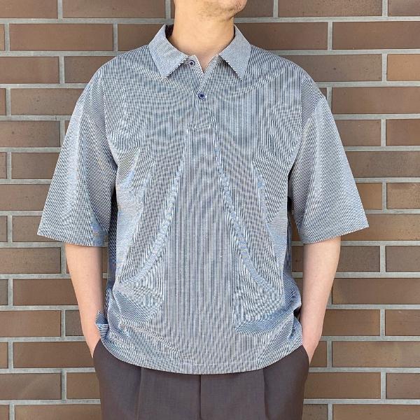 WEWILL ウィーウィル シアサッカー ポロシャツ 2.jpg