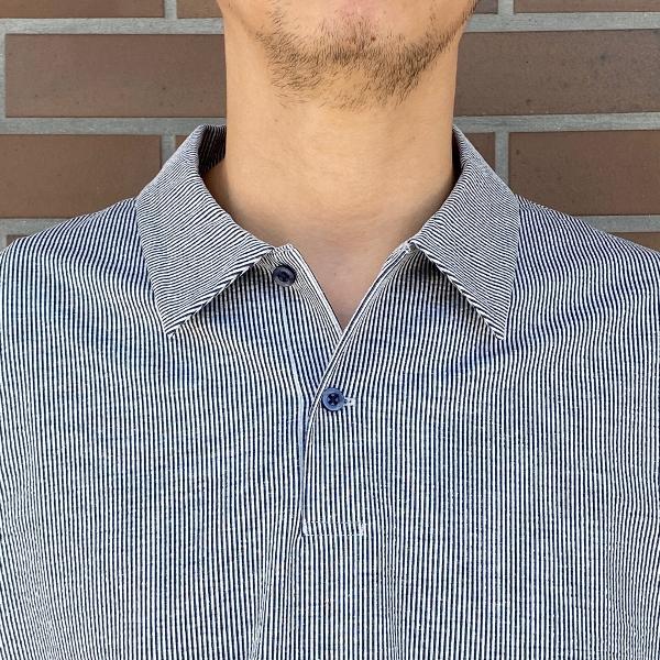 WEWILL ウィーウィル シアサッカー ポロシャツ 3.jpg