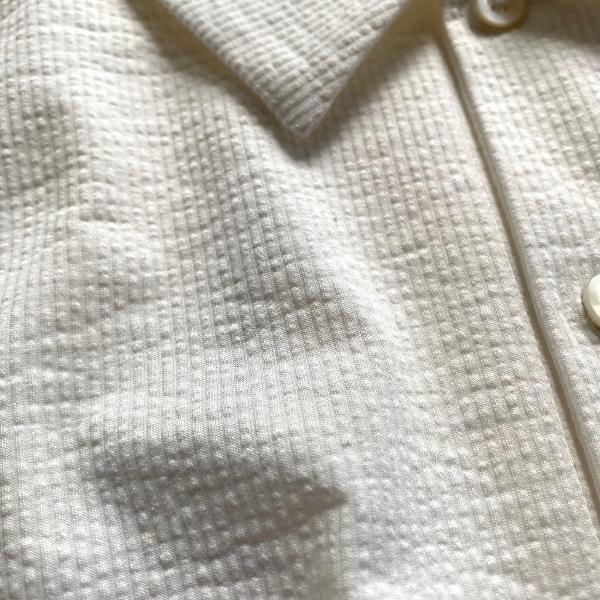 WEWILL ウィーウィル シアサッカー ポロシャツ 7.jpg