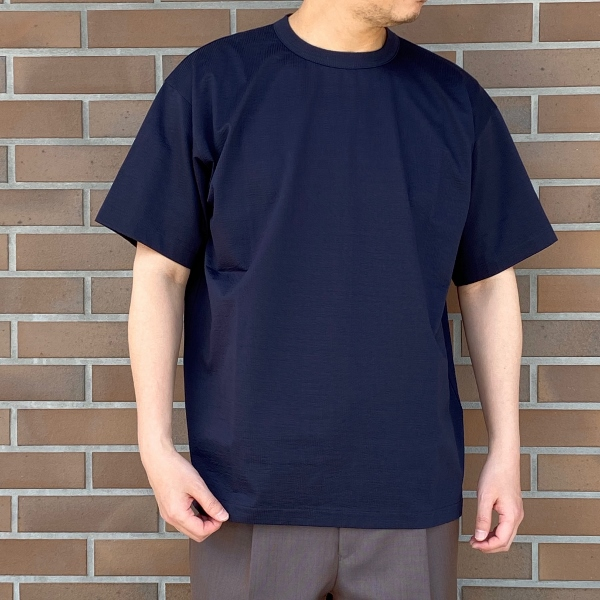 WEWILL ウィーウィル シアサッカー Tシャツ 2.jpg