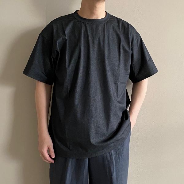 WEWILL ウィーウィル Tシャツ W-000-8011 S.Black 1.jpg