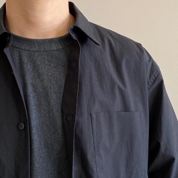 WEWILL ウィーウィル Tシャツ W-000-8011 S.Black 8.jpg