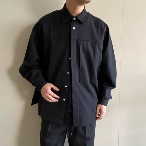 ANEI アーネイ S.S.ACTIVE SHIRT WC シャツ 1.jpg
