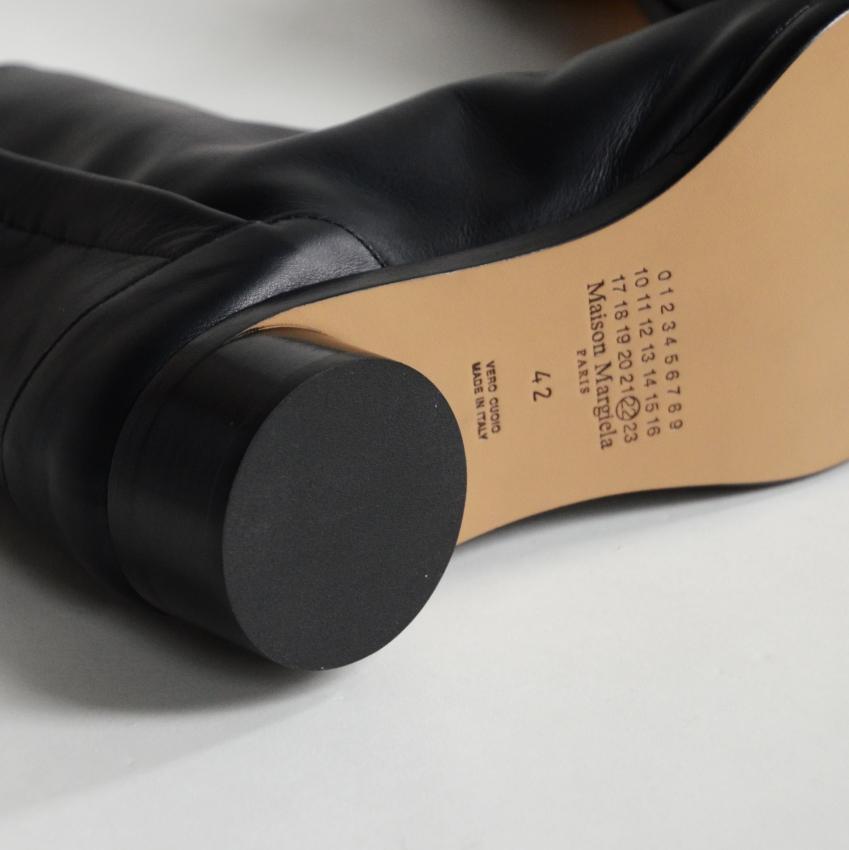 Maison Margiela メゾン マルジェラ TABI ANKLE 30MM 足袋ブーツ 3センチヒール 4.JPG