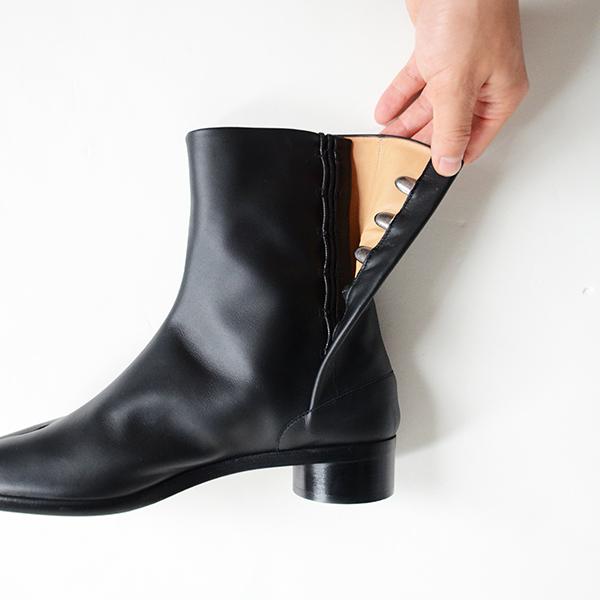 Maison Margiela メゾン マルジェラ TABI ANKLE 30MM 足袋ブーツ 3センチヒール 5.JPG