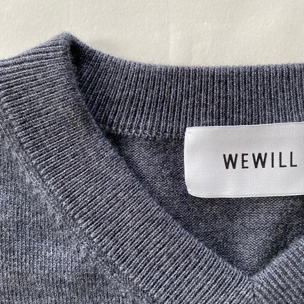 WEWILL ウィーウィル  ニットベスト W-007-7003 グレー 6.jpg
